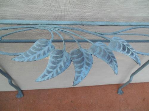 Salterini Pr of Neva-Rust consoles