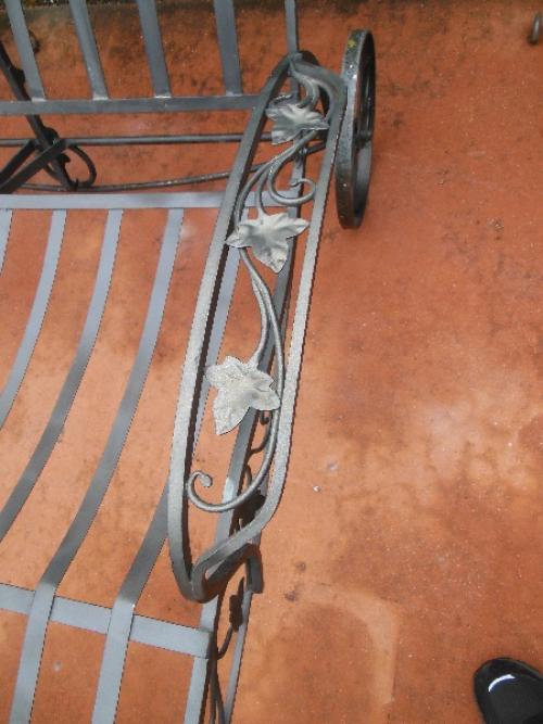 Salterini Mt Vernon Double Chaise Lounge