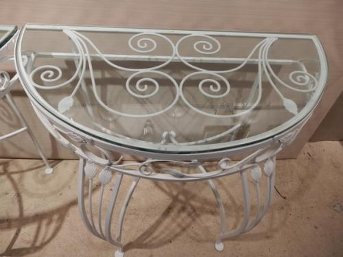 Salterini style Console tables for patio & garden
