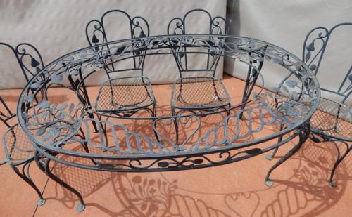Salterini Dining Room set Della Robbia Pattern