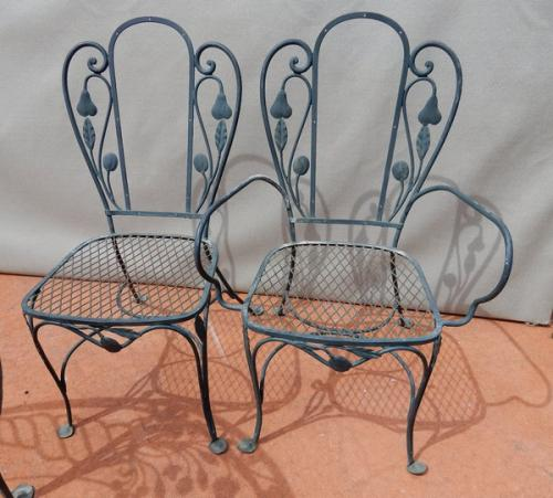 Salterini Dining Room set for Garden or Patio