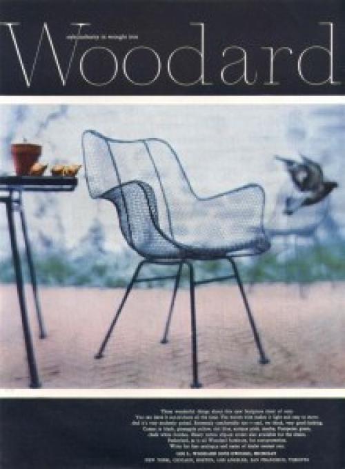 4 Woodard  Sculptura chairs
