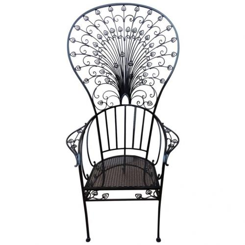 """Salterini"" Peacock Chairs"