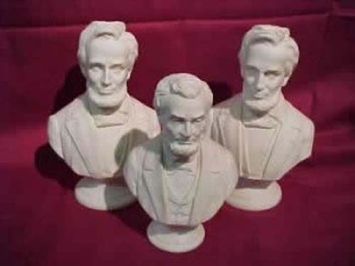 Parian Bust Of Lincoln