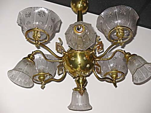 Victorian Aesthetic Chandelier SOLD