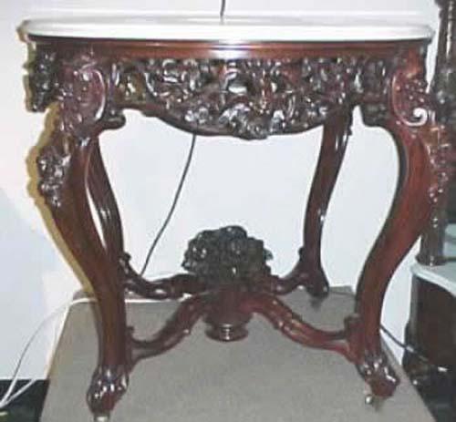 Joan Bogart Antiques: Belter Table. SOLD