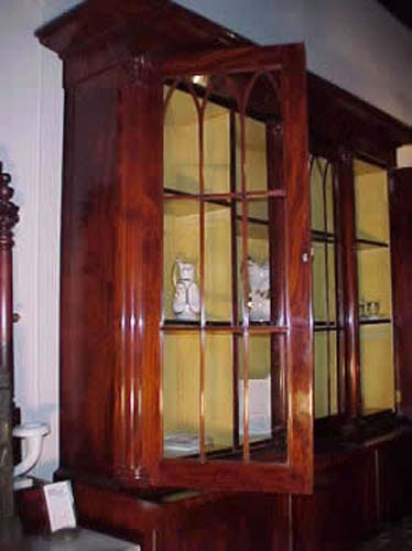 Quervelle Mahogany Bookcase