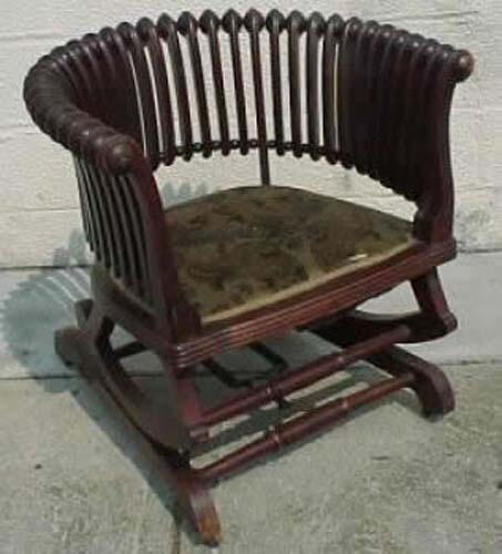 Joan Bogart Antiques: Hunzinger Rocker SOLD