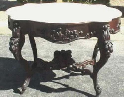 John Henry Belter Table.    SOLD