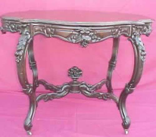 Rosewood Rococo Center Table Bogart Antiques