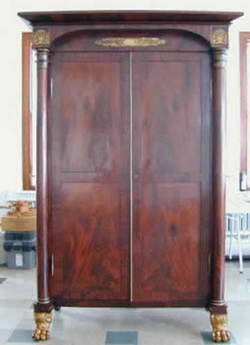 Armoire: American Classical Stenciled Meeks