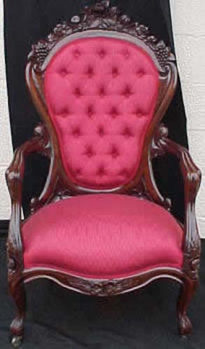 Victorian Belter Rosalie Armchair:  J Bogart