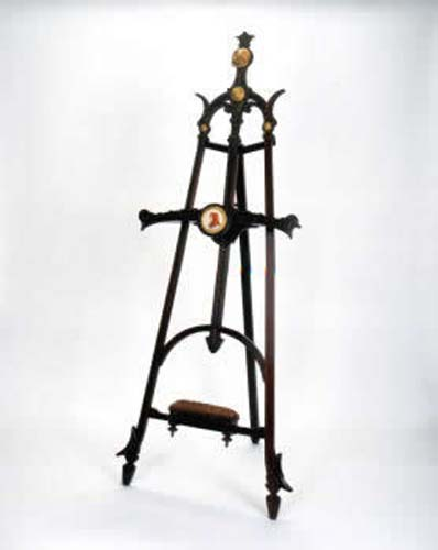 Victorian Rosewood Easel Attrib To Herter Bro