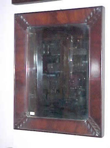19th Century American Classical  Ogee Mirror
