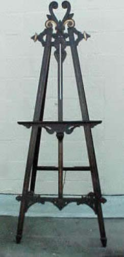 Victorian Ebonized & Gilt Easel SOLD