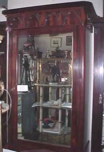 Rosewood Gothic Revival Armoire-Joan Bogart