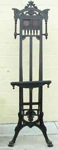 Victorian Ebonized Aesthetic Easel SOLD