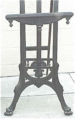 Victorian Aesthetic Ebonized Easel SOLD
