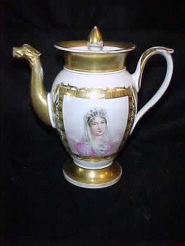 Teapot:Old Paris Porcelain SOLD