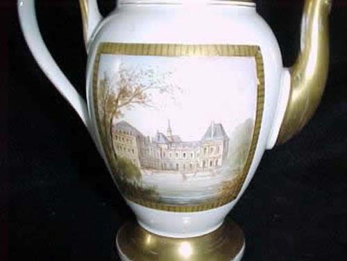 Teapot:Old Paris Porcelain SOLD