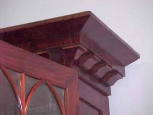Bookcase:American Classical Gothic