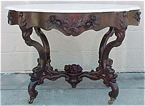 Victorian Belter Rosalie Rococo Table