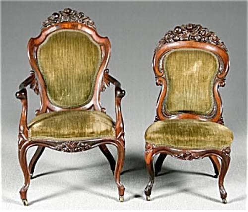 Victorian Belter Rosewood Chairs