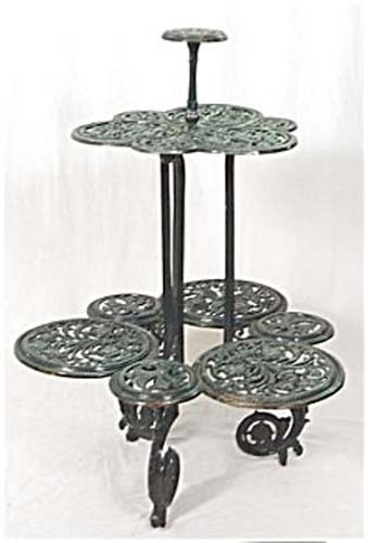 Victorian Coalbrookdale Plant Stand