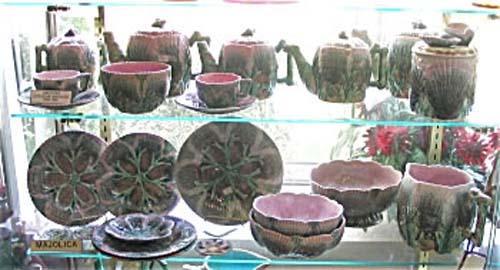 American Majolica: Shell & Seaweed Pattern
