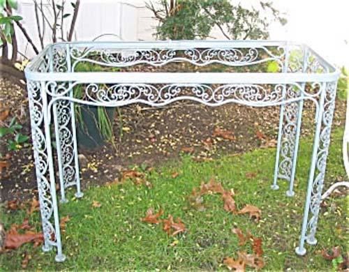 Woodard Andulasia Iron Table