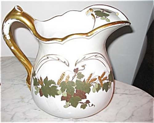 American Porcelain Commerative Pitcher