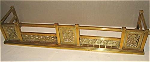 Victorian Aesthetic Brass Fender SOLD