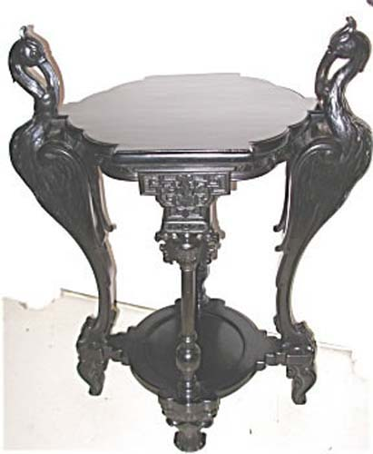 Pedestal; Victorian Aesthetic Table