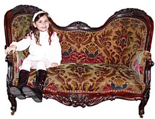Belter Sofa Owned by Tom Thumb Sold to Ringling Mu