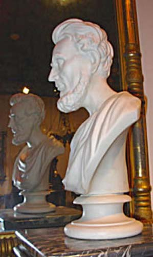 Parian Bust Of Lincoln - Wedgwood