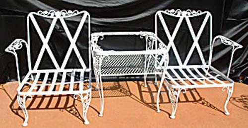Woodard Wrought Iron Patio Set  SOLD