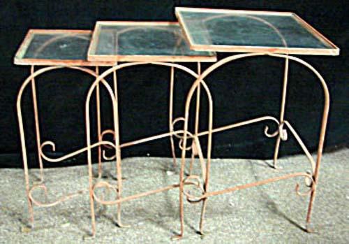 Salterini  Wrought Iron Tea Cart SOLD