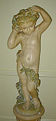 Statue Hollywood Regency SOLD