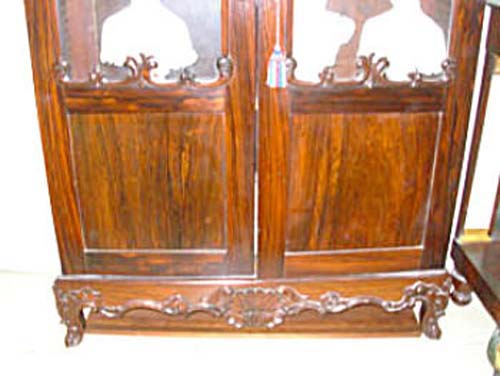 Bookcase: Am Gothic Revival Rosewood