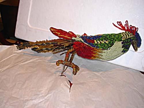 Beaded Italian Bird