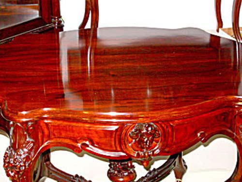 Table: Rosewood Rococo