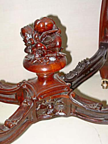 Table: Rosewood Rococo  SOLD