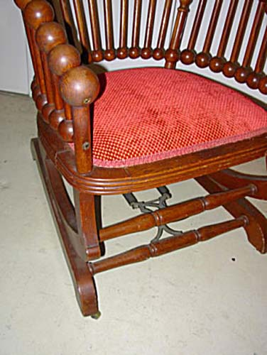 Hunzinger Oak Lollipop Rocker SOLD