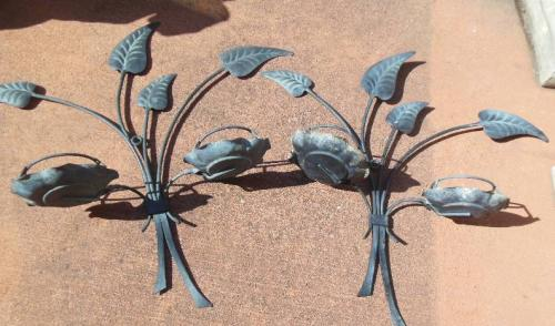Salterini Hanging Planters.  SOLD