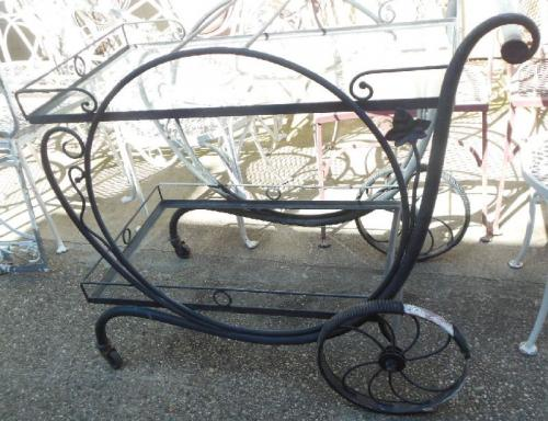 Vintage Patio Bar Cart Salterini  Mt Vernon