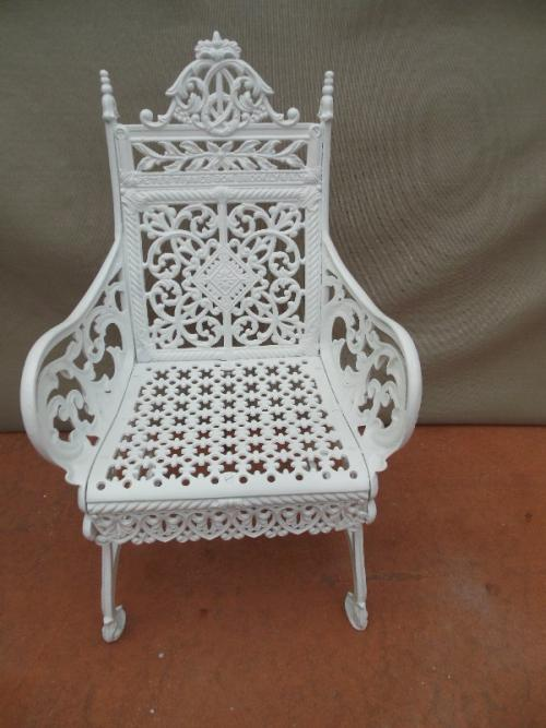 Cast Iron Timmes Curtain Chairs