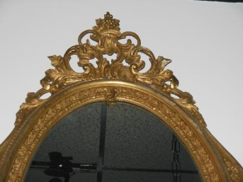 Victorian Mirror Gold Leaf Mirror