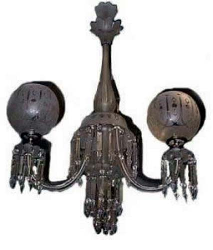 Victorian Gas & Electric Chandelier - 139