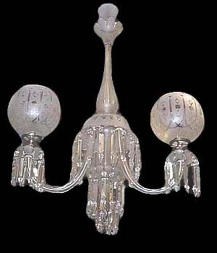 Crystal Gas Chandelier - 105
