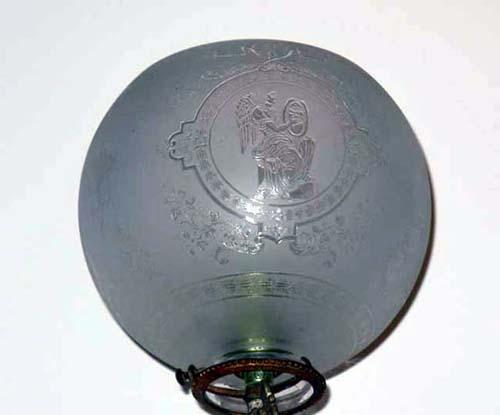 Victorian Gas Newel Light-sold
